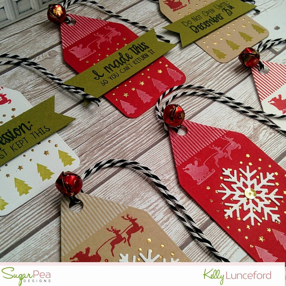 SugarCut - Snowflake Tag