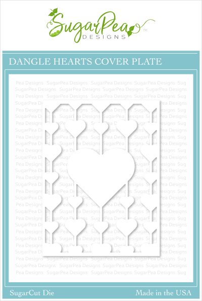 SugarCut - Dangle Hearts Cover Plate