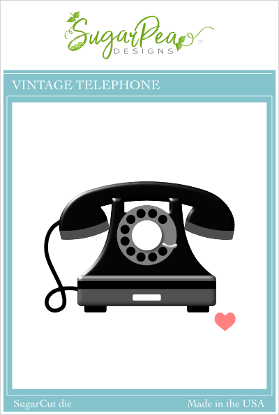 SugarCut - Vintage Telephone