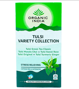 Tulsi Variety Collection, 25 påsar, Organic India
