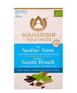 Gentle breath tea, Maharishi Ayurveda, 15 påsar