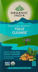Tulsi Cleanse tea, 25 påsar, Organic India