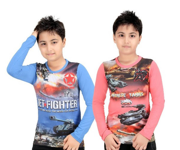 GRANDSTTCH - Boys Tshirts Combo 2 pack