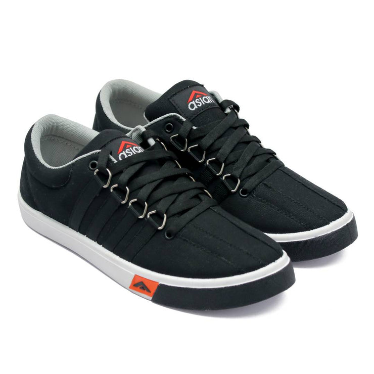 Asian Skypy-162 Black Casual Shoes For Men