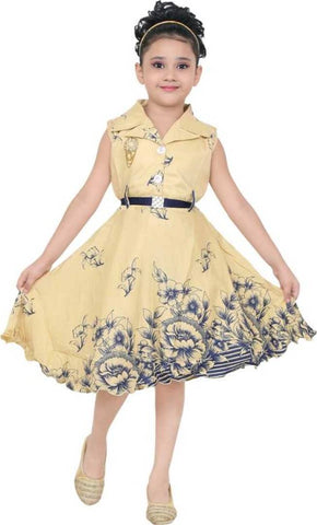 Girls Maxi/Full Length Party Dress
