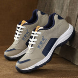 Men's Blue Synthetic Sports Running Shoes