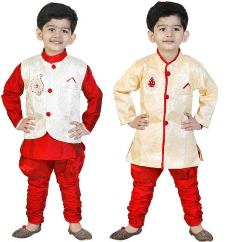 GENERATION NEXT SILK SET FOR BOYS