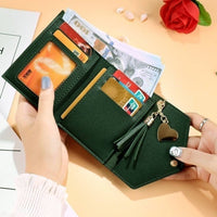 Trendy Artificial Leather Wallet for Women