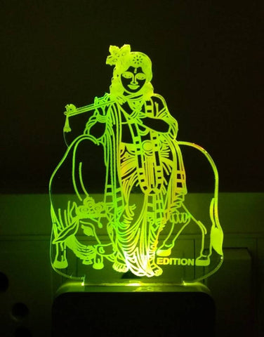 LORD KRISHNA 3D NIGHT LAMP