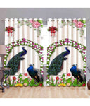 Creative Digital Printed Polyester Long Door Curtain (1 Piece )
