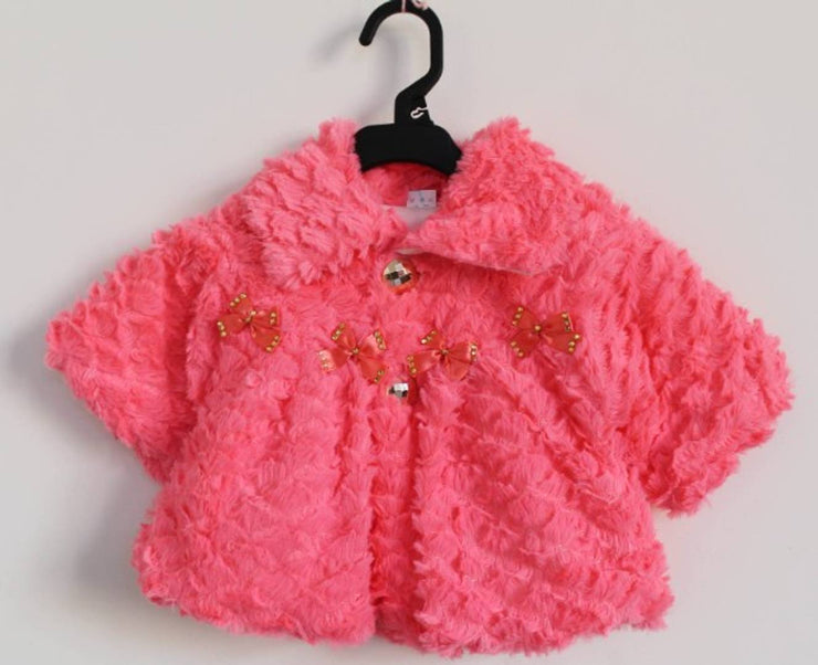 Pretty Wool Jacket For Girls