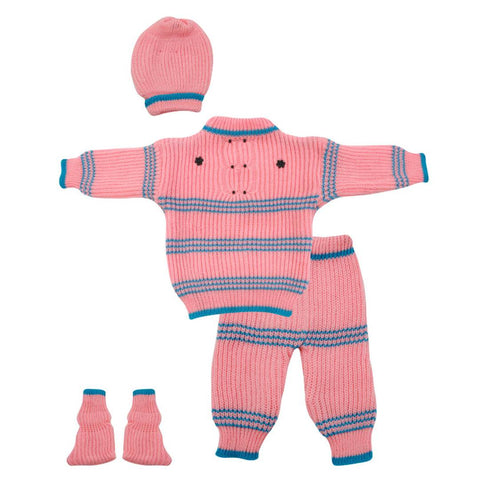 The Creators® Baby Boys & Baby Girls Casual Sweater Socks, Pyjama, Cap