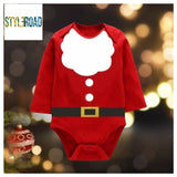 Stylish Beautiful Imported Fabric Rompers For Unisex For Christmas