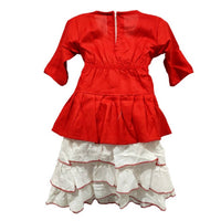 Rayon clothing set for girls