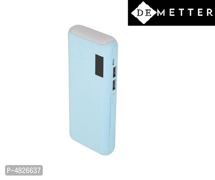 DeMetter Model Number Tlwp 15000 Power Bank  (Blue, Lithium-ion)