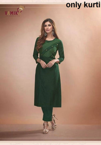 Trendy Attractive Viscose Stitched Kurta