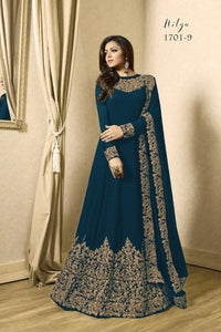 Designer Georgette Embroidery New Gown