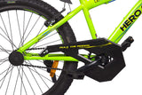 Amardeep cycles Hero Sprint Thorn 26T Single Speed Mountain Bicycle with Rigid Fork for 14 Years Above (Green)