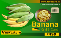 Banana Gift Card - Food Care INDIA