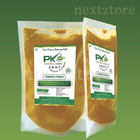 P K Turmeric - Powdered Spices 100 gm Pack