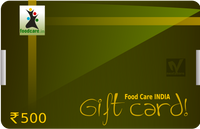 Gift Card  Rs.500 - Food Care INDIA