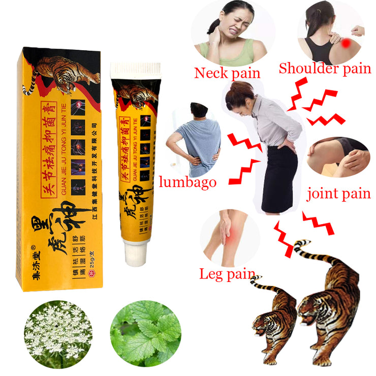 Tiger Balm Suitable For Rheumatoid Arthritis/ Joint Pain/ Back Pain Relief Analgesic Balm Ointment ,ZB Shaolin Analgesic Cream