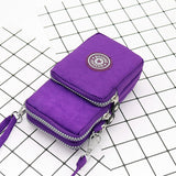 Women's nylon mobile phone bag Fashion Female Small Messenger Bags Women Crossbody Shoulder Bags Lady Clutches