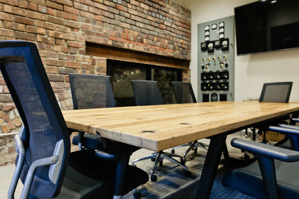 conference table, wood table, custom furniture, office furniture, Columbus Ohio