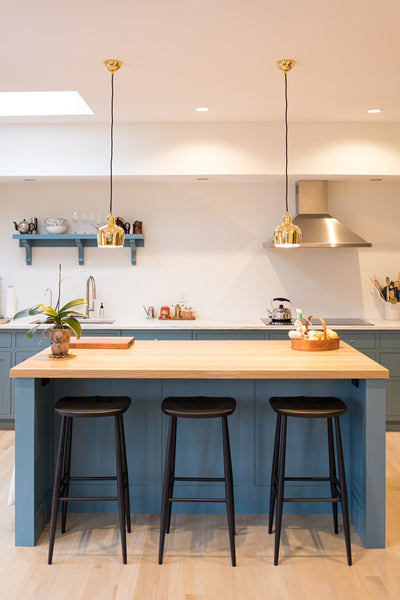 5 simple ways to update your home, butcher block counters by Edgework Creative