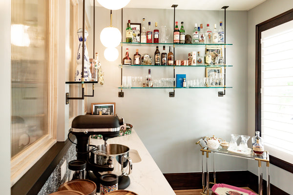 Butler's pantry shelving by Edgework Creative, German Village