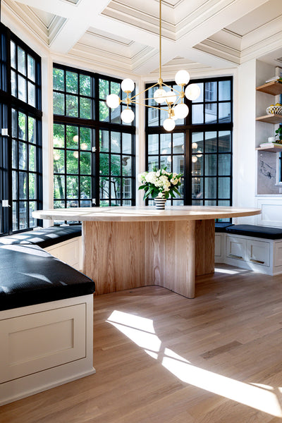 5 simple ways to update your home by Edgework Creative, dining table