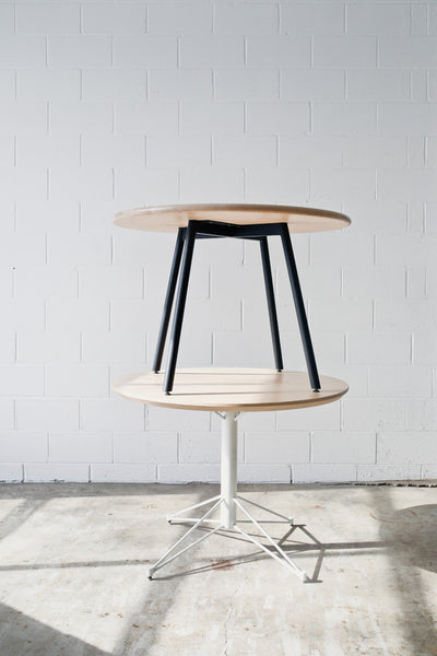Customize your own round dining table by Edgework Creative