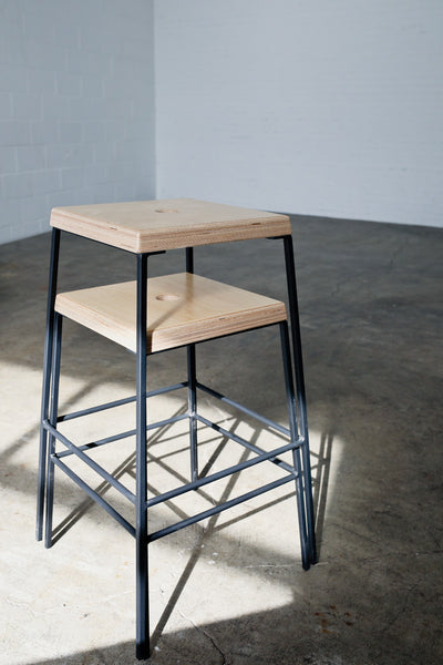 Stacking stools by Edgework Creative