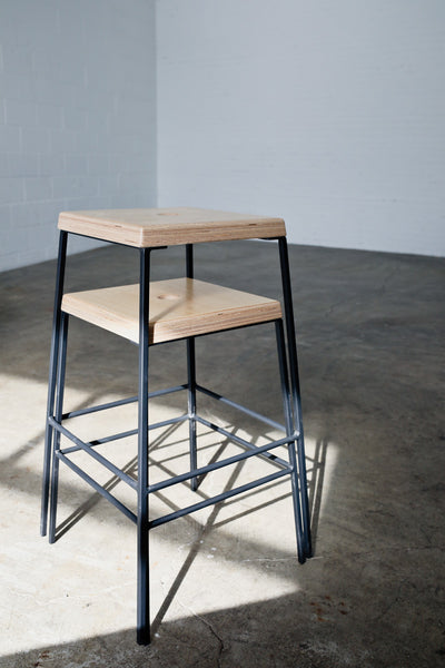The STAX stool by Edgework Creative, stacking stool