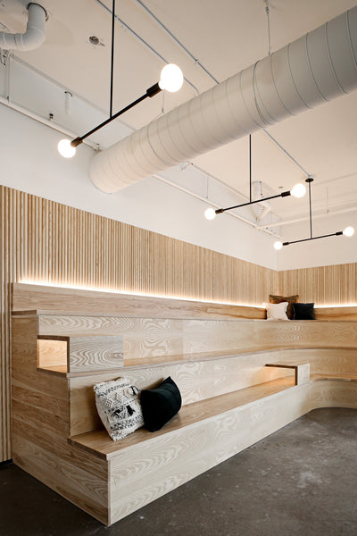 Office seating by Edgework Creative