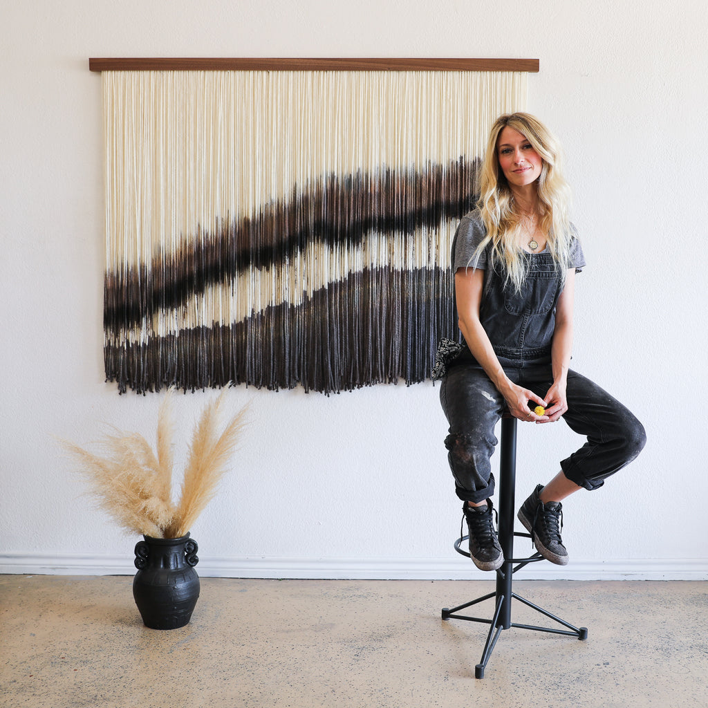 Lauren Williams Art + Home #hotseat with Edgework Creative