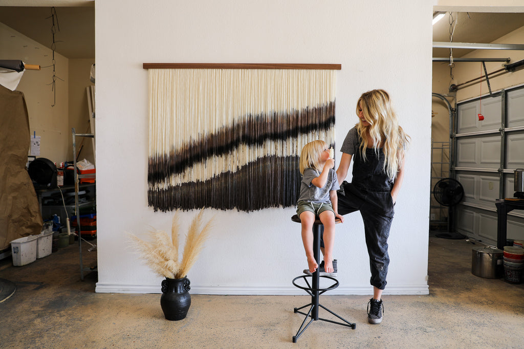 Lauren Williams Art + Home - Canvas with Movement
