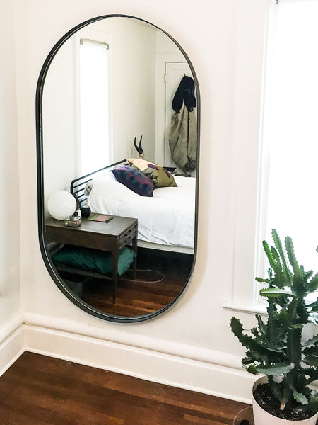 Round mirror by Edgework Creative, 5 simple ways to update your home