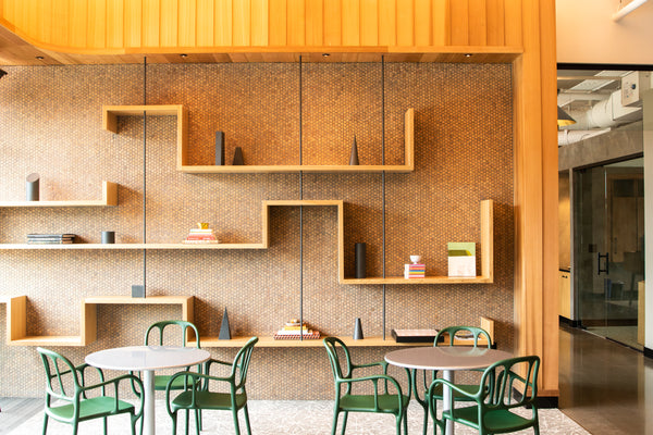office shelving, van aken district, office design
