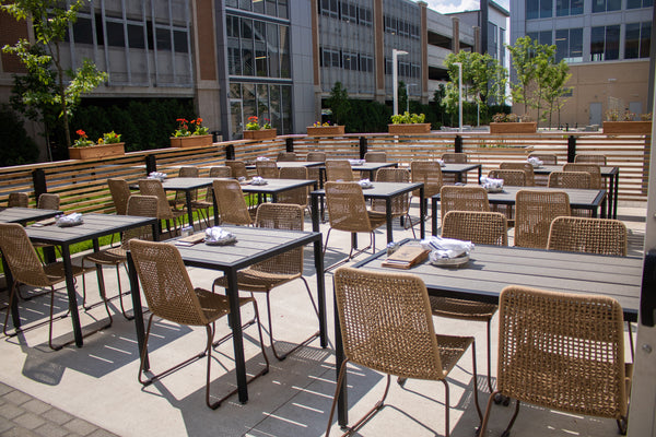 restaurant furniture, custom restaurant furniture, restaurant design, outdoor dining furniture