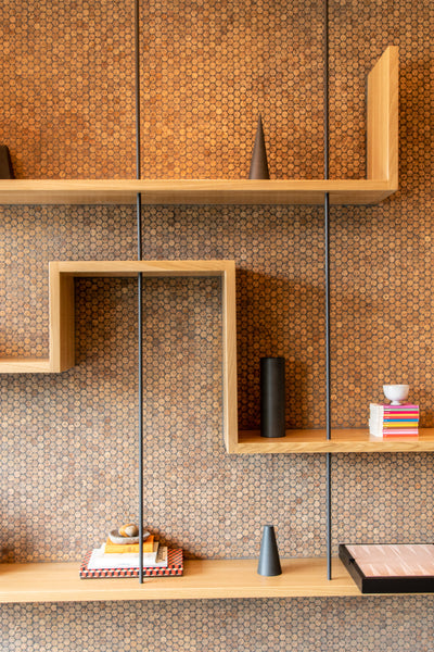 Office shelving by Edgework Creative, office furniture