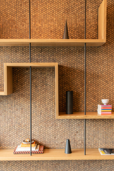 Office shelving, modern shelving by Edgework Creative
