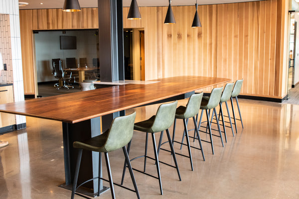 community table, conference table, office design, custom furniture