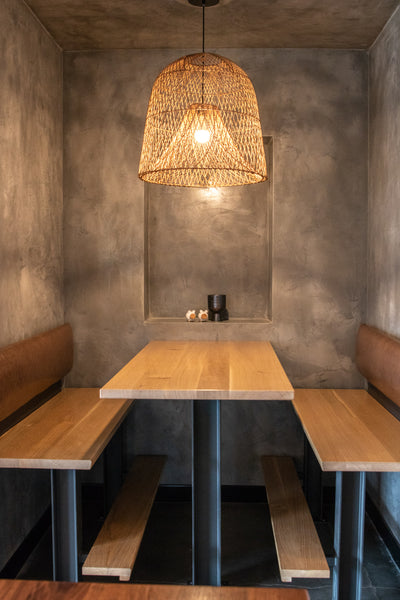 Restaurant Seating by Edgework Creative