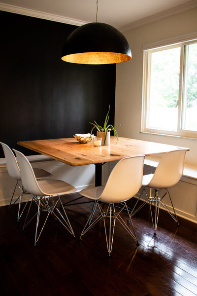 Modern dining table by Edgework Creative, 5 simple ways to update your home