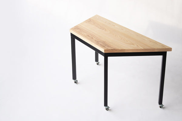 Modular tables and modular desk by Edgework Creative