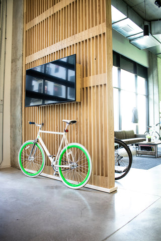 Pelotonia, office design, custom furniture
