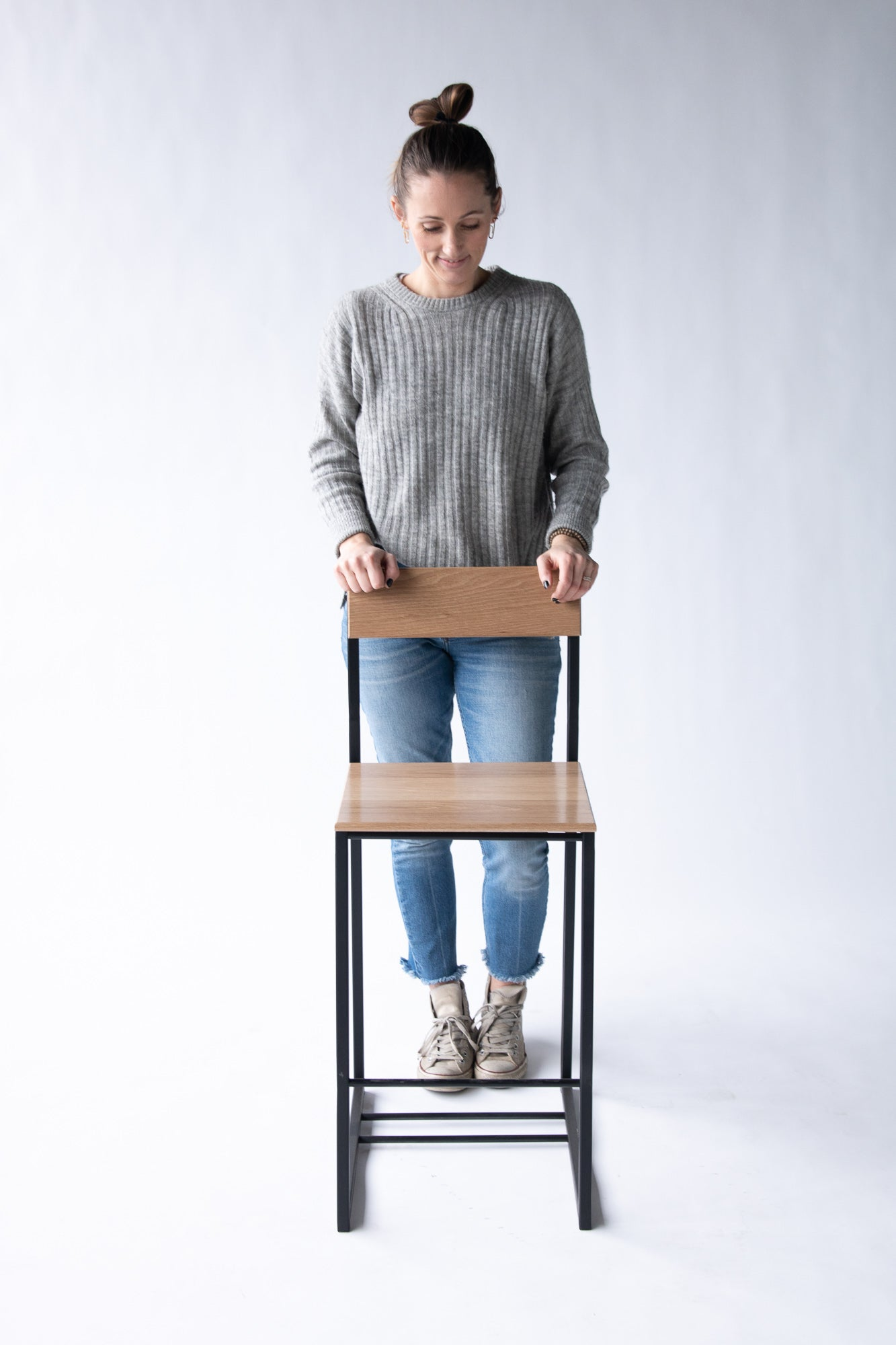"The Scout Seating Series - 24"" counter height chair by Edgework Creative"