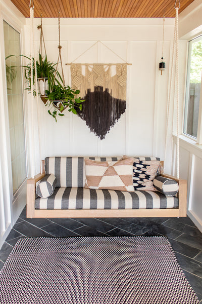 Porch swing by Edgework Creative, 5 simple ways to update your home