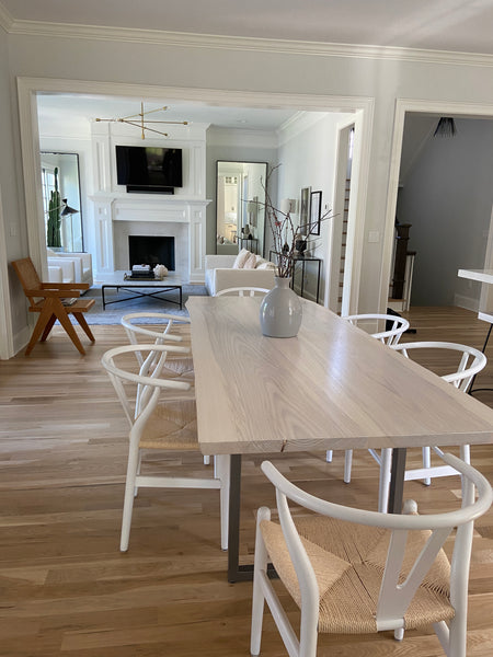 Live edge dining table by Edgework Creative, kitchen table